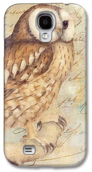 White Faced Owl Galaxy S4 Case