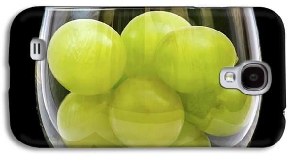 White Grapes In Glass Galaxy S4 Case