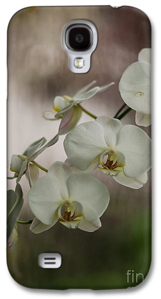 Orchid Galaxy S4 Case - White Of The Evening by Mike Reid