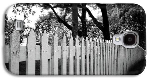 White Picket Fence- By Linda Woods Galaxy S4 Case by Linda Woods