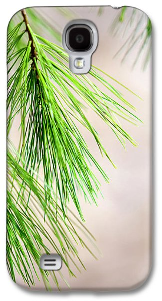 Galaxy S4 Case featuring the photograph White Pine Branch by Christina Rollo