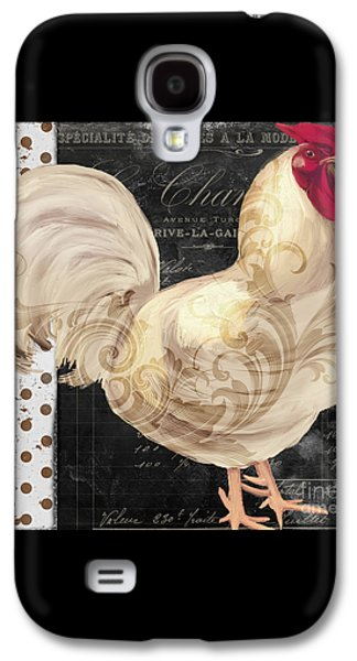 White Rooster Cafe I Galaxy S4 Case by Mindy Sommers