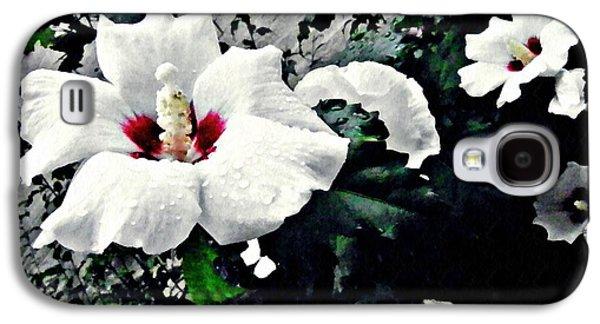 White Rose Mallows 2 Galaxy S4 Case