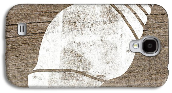 White Seashell- Art By Linda Woods Galaxy S4 Case by Linda Woods