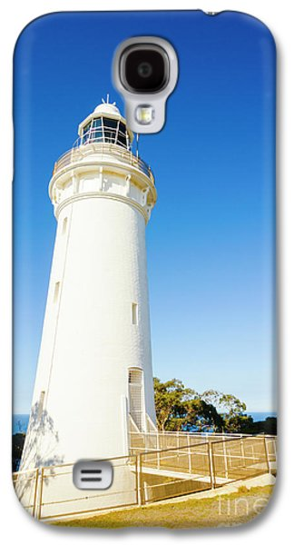 Travel Galaxy S4 Case - White Seaside Tower by Jorgo Photography - Wall Art Gallery