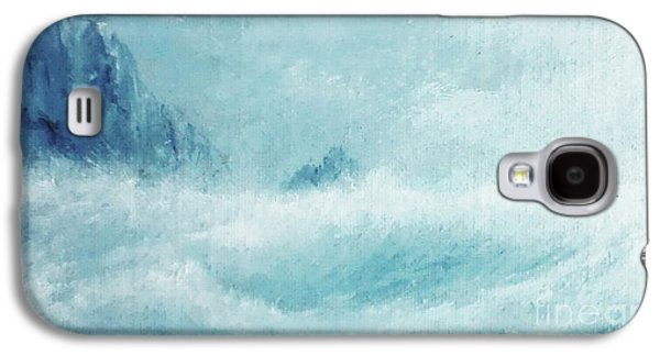 White Storm Galaxy S4 Case by Paul Rowe