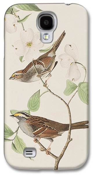 White Throated Sparrow Galaxy S4 Case