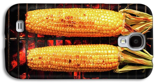 Whole Corn On Grill Galaxy S4 Case