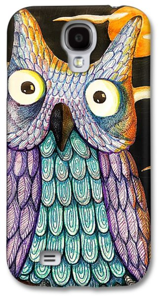 Whom? Galaxy S4 Case by Jame Hayes