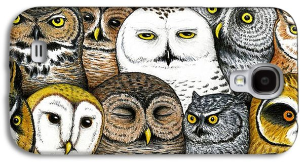 Who's Hoo Galaxy S4 Case