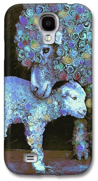 Whose Little Lamb Are You? Galaxy S4 Case by Jane Schnetlage