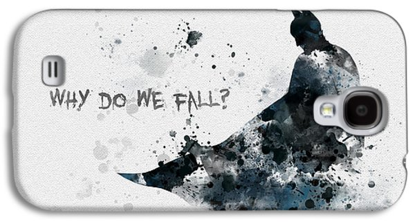 Why Do We Fall? Galaxy S4 Case by Rebecca Jenkins