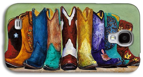 Why Real Men Want To Be Cowboys Galaxy S4 Case by Frances Marino