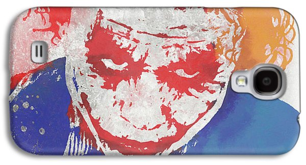 Why So Serious Galaxy S4 Case by Dan Sproul