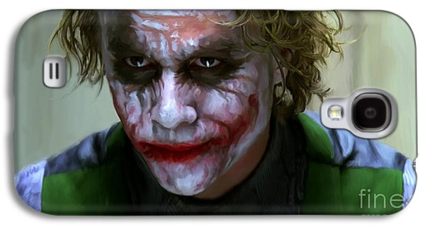 Heath Ledger Galaxy S4 Case - Why So Serious by Paul Tagliamonte