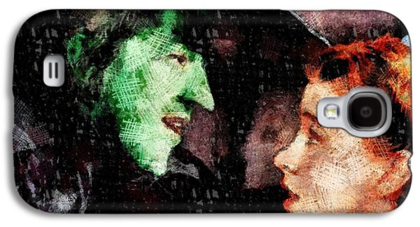 Wicked Witch And Dorothy, Wizard Of Oz Galaxy S4 Case
