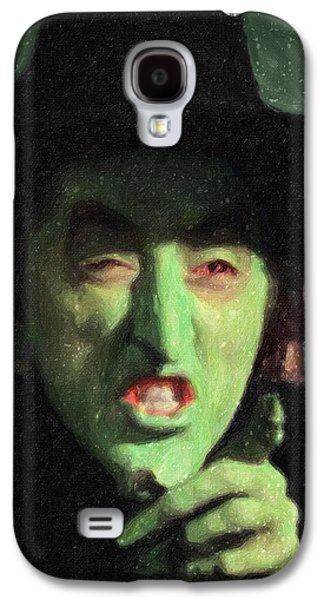 Wicked Witch Of The East Galaxy S4 Case