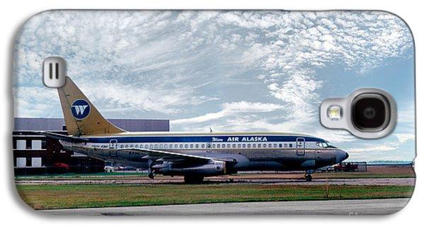 Wien Air Alaska Boeing 737, N4907 Galaxy S4 Case by Wernher Krutein