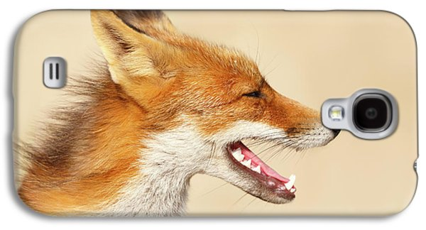 Wild And Free - Fox Portrait Galaxy S4 Case