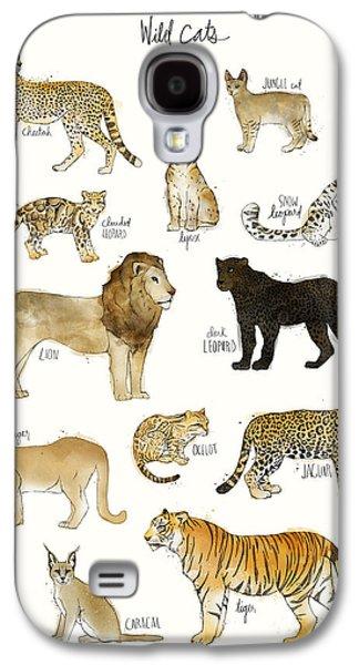 Wild Cats Galaxy S4 Case by Amy Hamilton