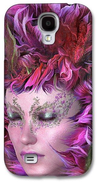 Wild Flower Goddess Galaxy S4 Case