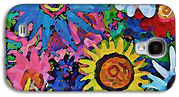 Wild Flowers Galaxy S4 Case by Gregory McLaughlin
