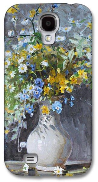 Wild Flowers Galaxy S4 Case by Ylli Haruni