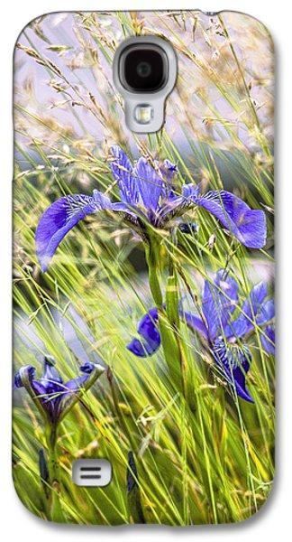 Wild Irises Galaxy S4 Case