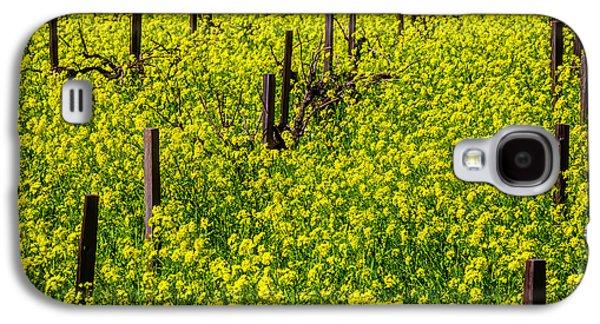 Wild Mustard Grass Galaxy S4 Case by Garry Gay