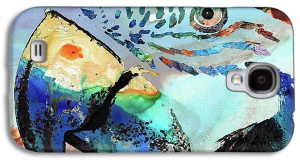 Wild Parrot Art By Sharon Cummings Galaxy S4 Case
