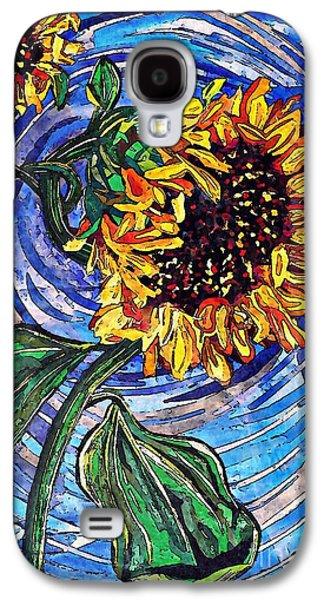 Wild Sunflowers Galaxy S4 Case
