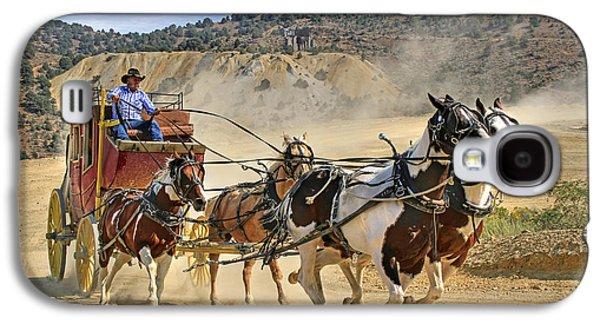 Wild West Ride Galaxy S4 Case