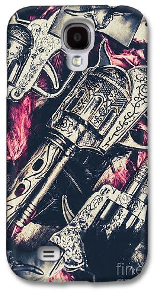 Wild West Weapons  Galaxy S4 Case