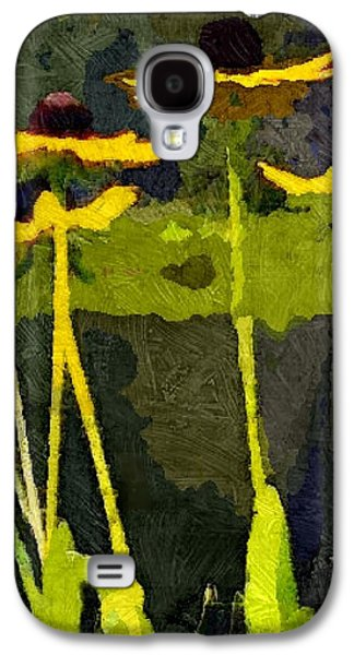 Wild Yellow Coneflowers 12 Galaxy S4 Case