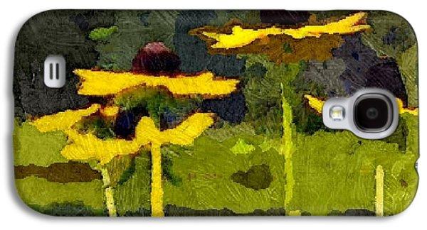 Wild Yellow Coneflowers 26 Galaxy S4 Case
