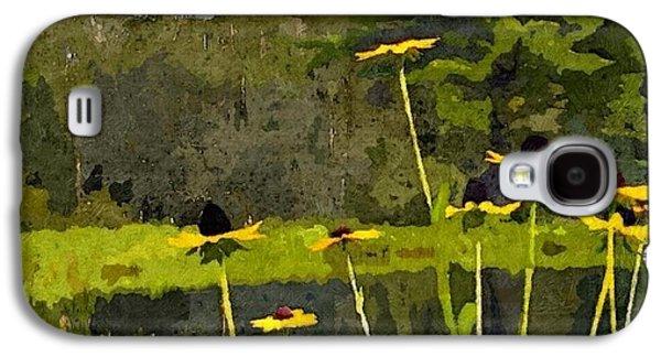Wild Yellow Coneflowers 31 Galaxy S4 Case