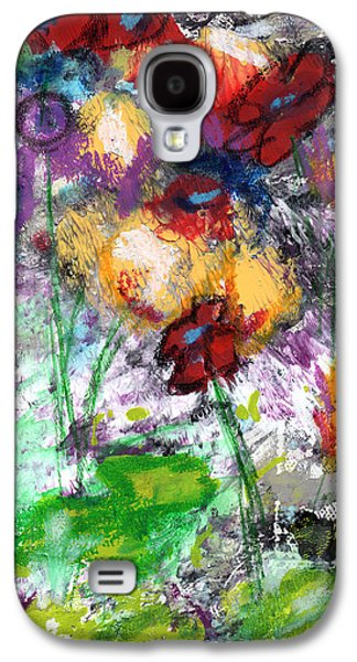 Wildest Flowers- Art By Linda Woods Galaxy S4 Case by Linda Woods