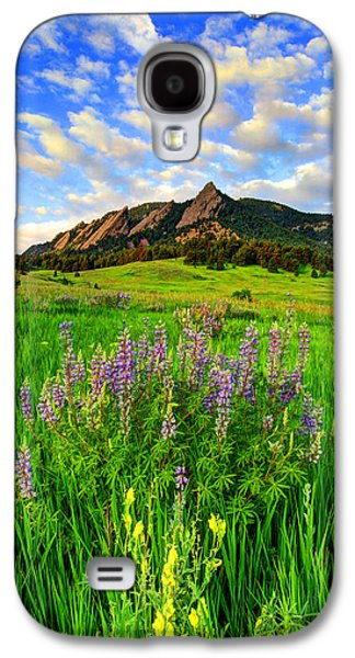 Wildflower Colors Galaxy S4 Case by Scott Mahon