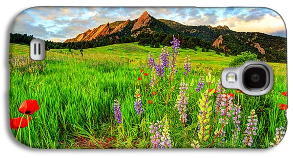 Wildflower Mix Galaxy S4 Case
