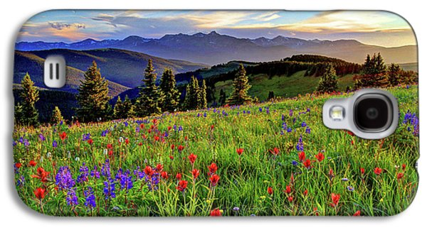 Fort Collins Galaxy S4 Case - Wildflower Sunset Hill by Scott Mahon