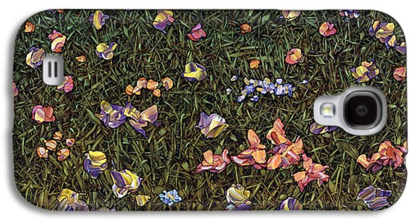 Wildflowers Galaxy S4 Case by James W Johnson