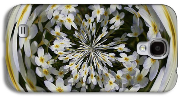 Galaxy S4 Case featuring the photograph Wildflowers Orb by Bill Barber