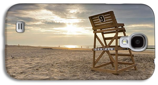 Chair Galaxy S4 Cases - Wildwood Crest New Jersey Sunrise Galaxy S4 Case by Dustin K Ryan