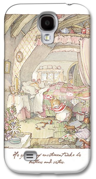 Wilfred's Birthday Morning Galaxy S4 Case by Brambly Hedge
