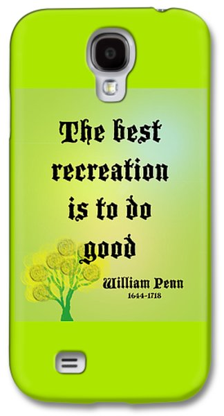 William Penn Galaxy S4 Case