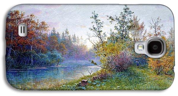 William Stanley Haseltine    Mill Dam In Traunstein Galaxy S4 Case