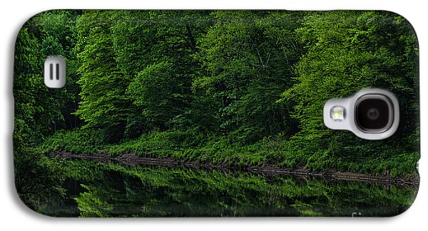 Williams River Spring Reflections Galaxy S4 Case by Thomas R Fletcher