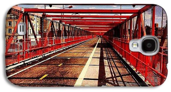 City Galaxy S4 Case - Williamsburg Bridge - New York City by Vivienne Gucwa