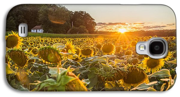 Wilted Sunset Galaxy S4 Case by Kristopher Schoenleber