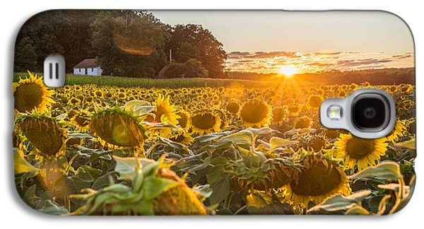 Wilted Sunset Galaxy S4 Case by Kristopher Schoenleber